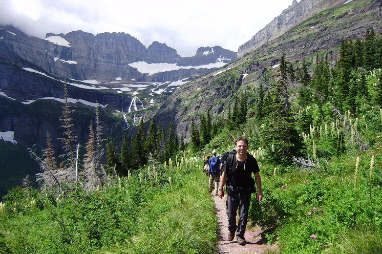 Während der Reise erwandern Sie den Grinnell Glacier Trail