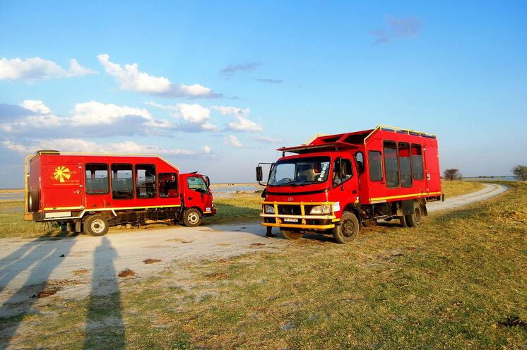 Auf dieser Reise sind Sie in geräumigen, speziell für diese Art von Reise gebauten Trucks unterwegs