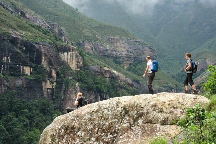 3 Tage verbringen Sie in den Drakensbergen.