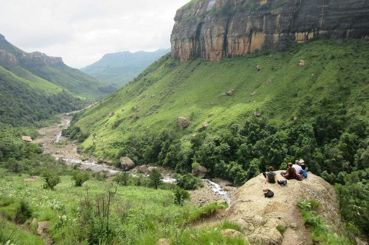 Auf dieser Südafrika-Reise wird gewandert. Nicht nur in den Drakensbergen sondern auch auf Safari.