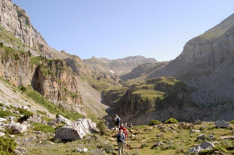 Spektakuläre Canyons erwarten Sie im Hecho-Tal