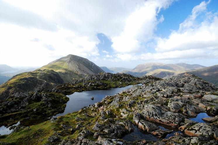 Der Name ist im lake District Programm - kleine und größere Bergseen werden Sie oft entdecken