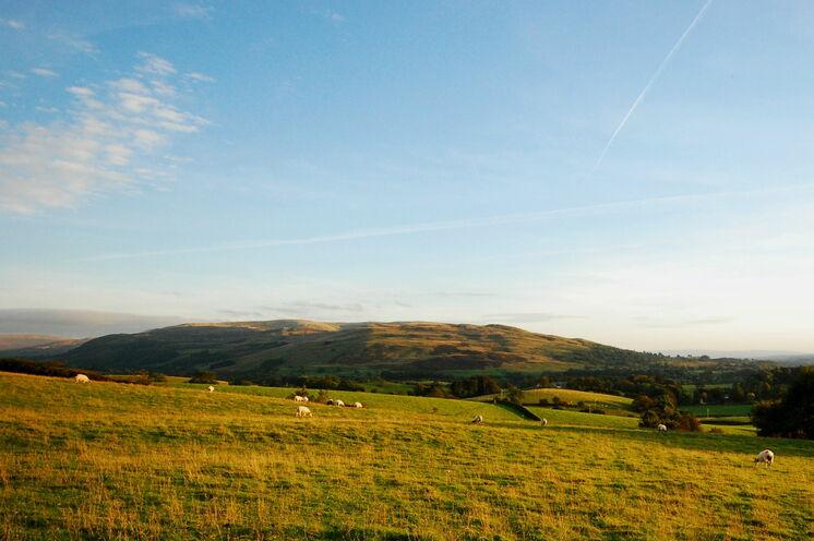 Genißen Sie Weitblicke in den Yorkshire Dales
