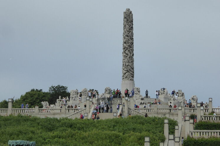 Der Vigeland Skulpturenpark in Oslo- unbedingt ansehen!