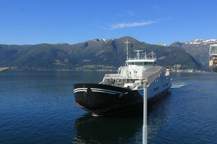 Fähren gehören in Norwegen einfach dazu!