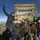Den Gipfel Uhuru Peak erreicht - ein Traum ist war geworden