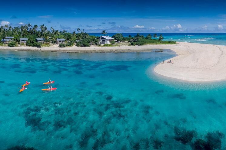 Neben Bade- und Strandaufenthalt bietet der Inselstaat Tonga auch beste Möglichkeiten für optionale Aktivitäten im Urlaub