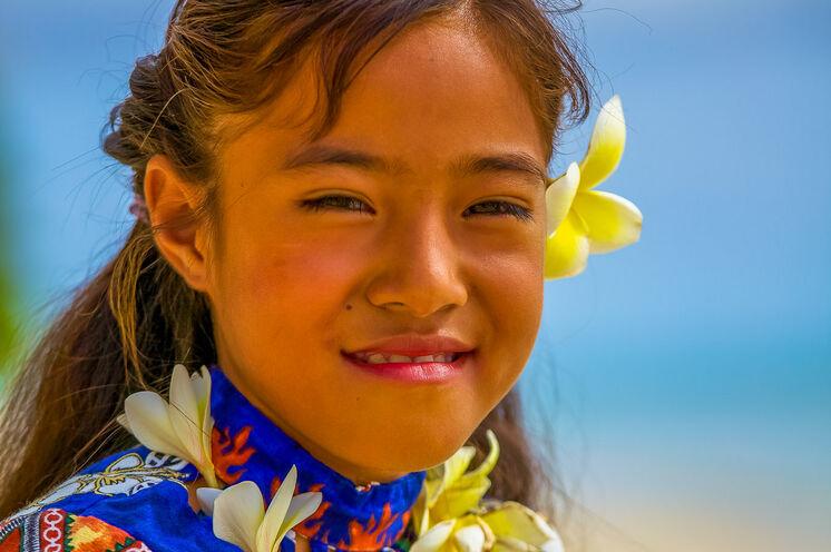 Polynesische Schönheiten