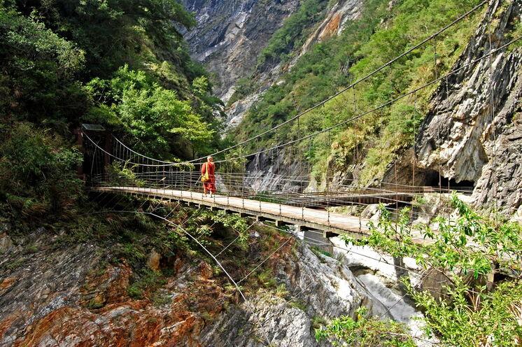 Die Taroko-Schlucht: sie zählt zu den Naturwundern Asiens.