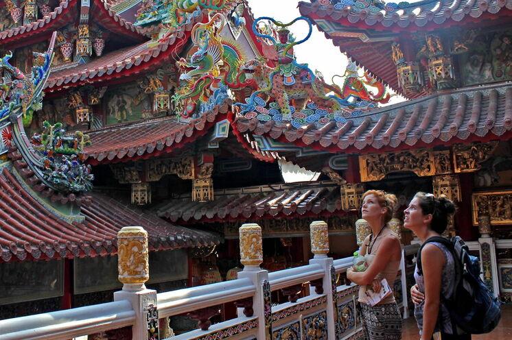 Tainan - Stadt der Tempel.