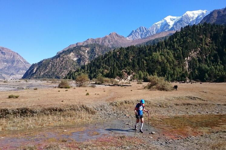 Wunderbare Trails im Khali Gandaki Tal - dem tiefsten Einschnittstal der Welt.