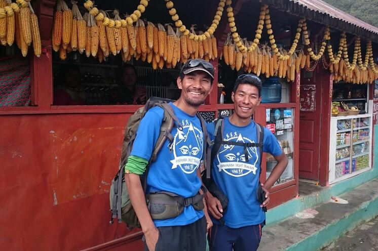 Unsere Guides, Gelu und Furba Sherpa