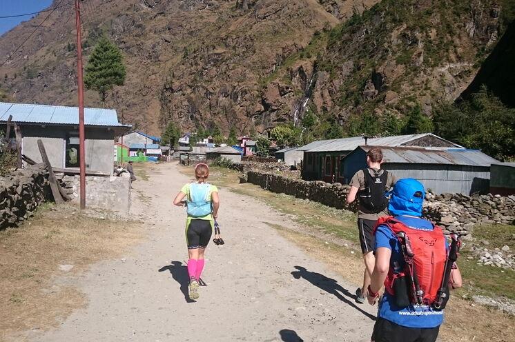 Die Etappen für von einem urigen Dorf ins nächste.