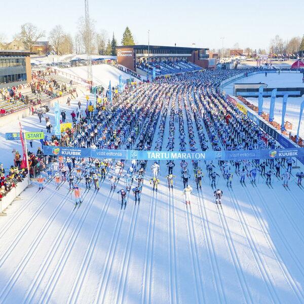 Kombination Tartu Marathon & Finlandia Hiihto 2020