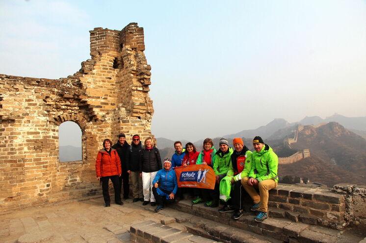 Eine 14-köpfige Gruppe, Skienthusiasten und Begleiterinnen waren bei unserer ersten Reise zum Vasaloppet China 2017 dabei.
