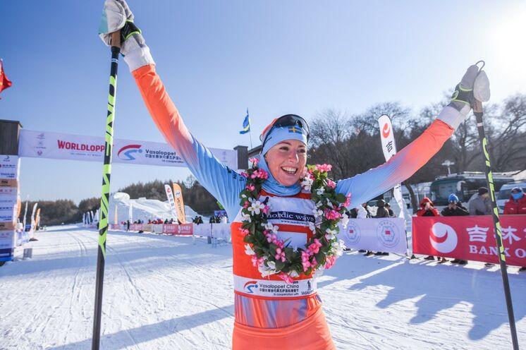 Mit Maria Gräfnings kam die Siegerin 2019 erstmals aus Schweden.