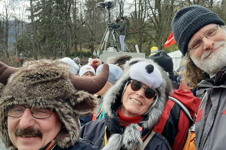 Auch unsere Teilnehmer Elke, Stefan und Eckhard in bester Laune