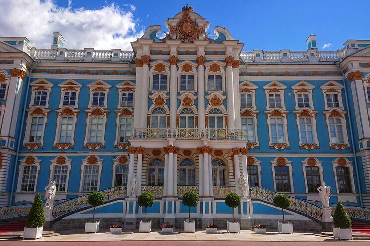 Ein Wunder russischer Architektur: Der Katharinenpalast in Puschkin