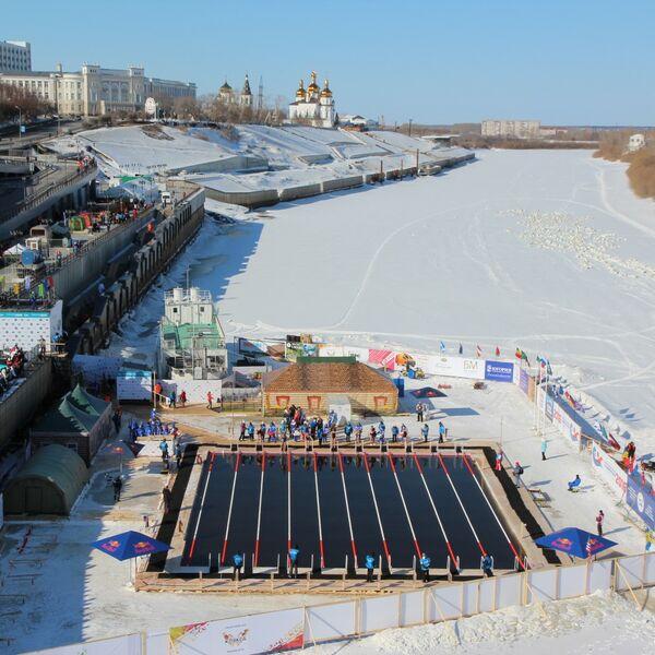Weltmeisterschaft im Winterschwimmen 2022 in Russland