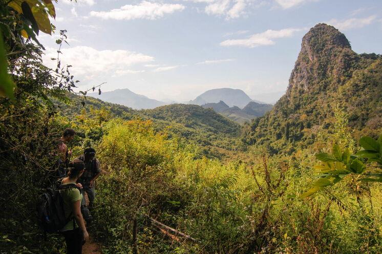 Dem Fair Trek folgend durchstreifen Sie die Bergwelt