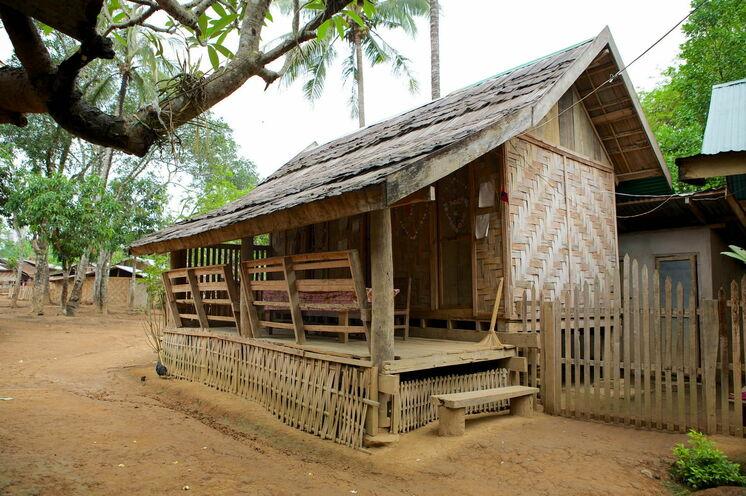 Im Dorf Houay Fai übernachten Sie heute in Gasthäusern der Einheimischen