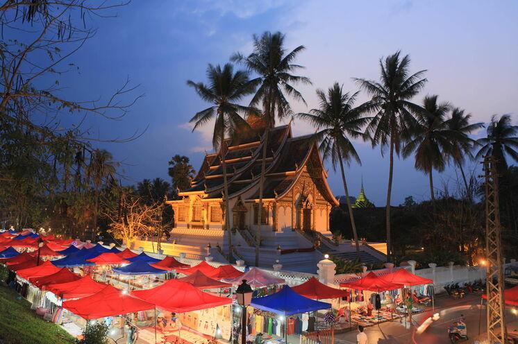 Himmlische Königsstadt Luang Prabang