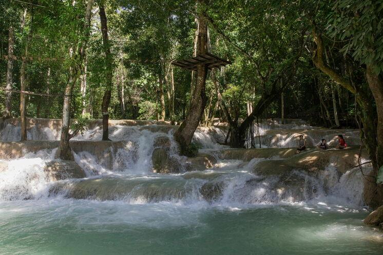 Am Tad Sae Wasserfall haben Sie sich eine Erfrischung verdient!