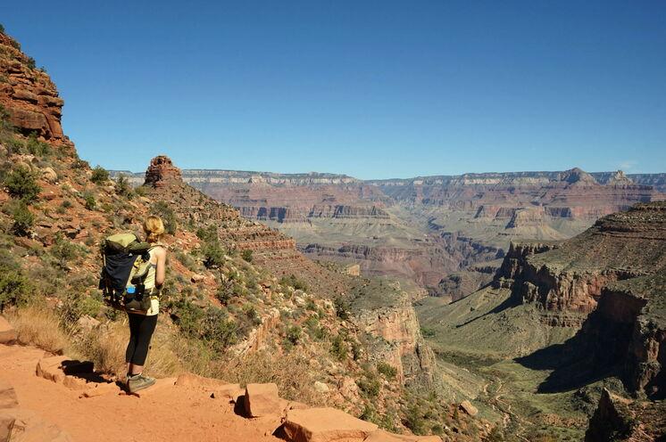 Der Grand Canyon: Eines der größten Naturwunder der Welt erkunden Sie zu Fuß