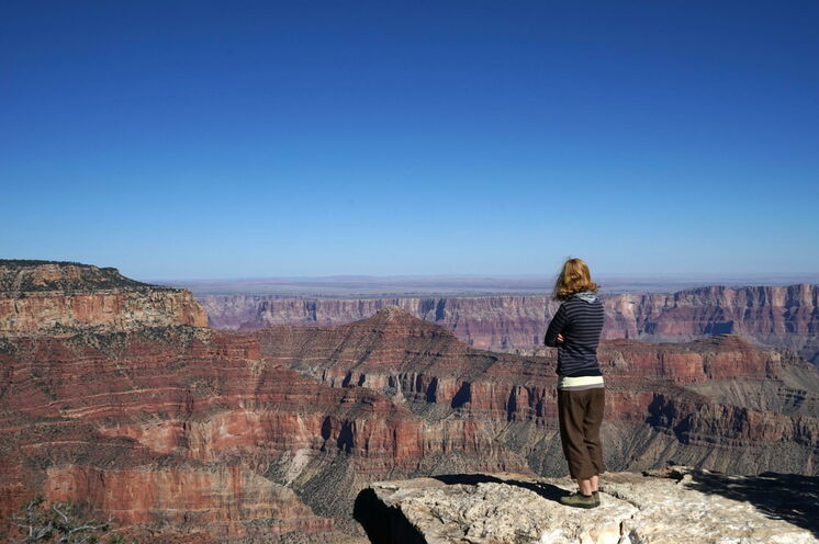...der Grand Canyon! Ein brilliantes Meisterwerk von Mutter Natur