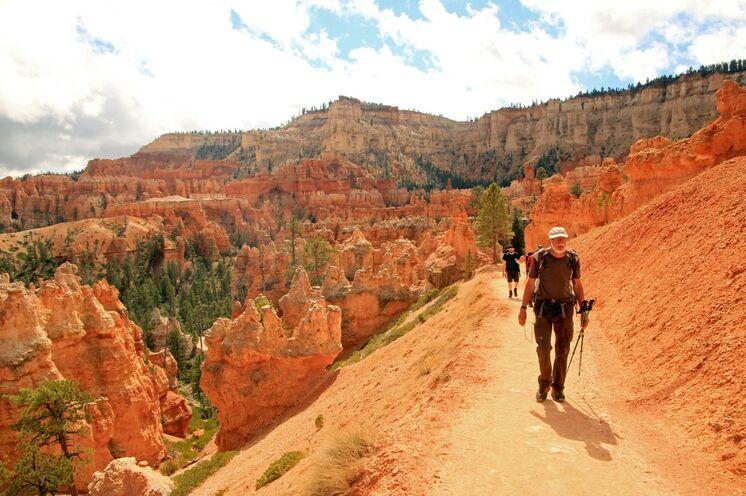 Spektakulär ist die Farbwelt im Bryce Canyon-Nationalpark