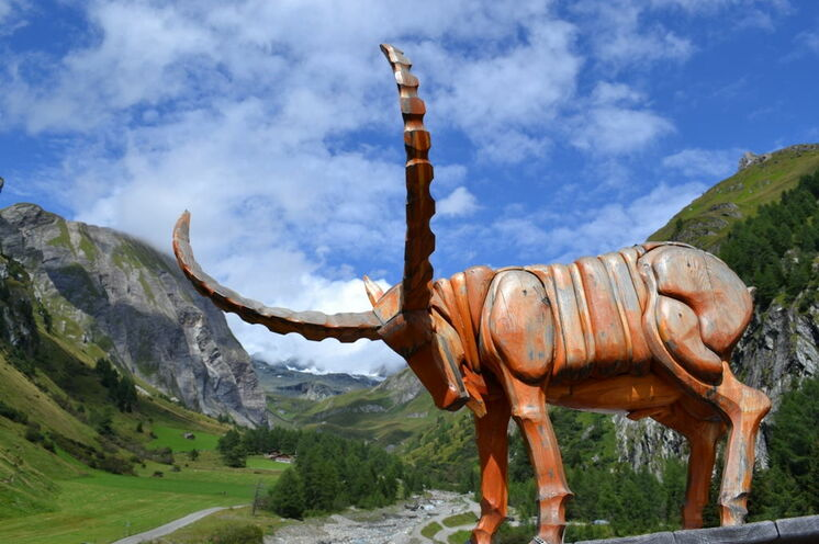 Mit etwas Glück zeigt sich Ihnen der Großglockner, der mit 3.798 m höchste Berg Österreichs