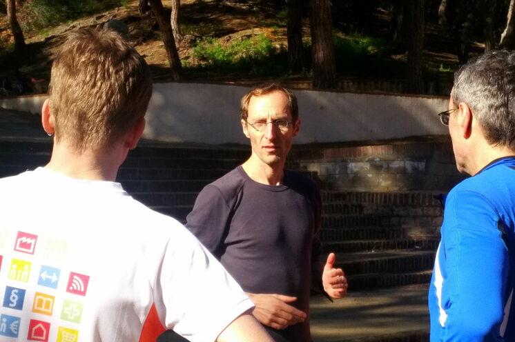 Piet Könnicke von gotorun - ein Laufprofi mit wunderbarer Bodenhaftung - trainiert anspruchsvoll und mit Freude.