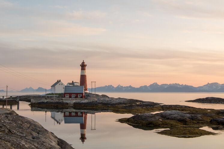 Der historische Leuchttum von Tranøy Fyr