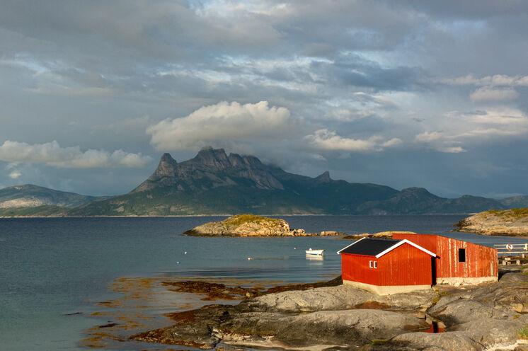 Küstenlandschaft bei Tranøy