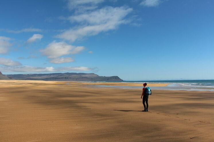 Rauðasandur - ein Strand wie aus einem Bilderbuch für Traumstrände