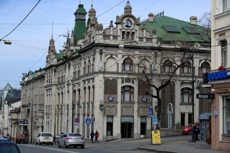 In der Altstadt von Wladiwostok
