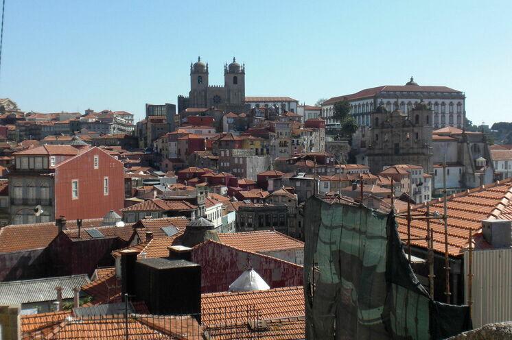 Blick über die Altstadt von Porto