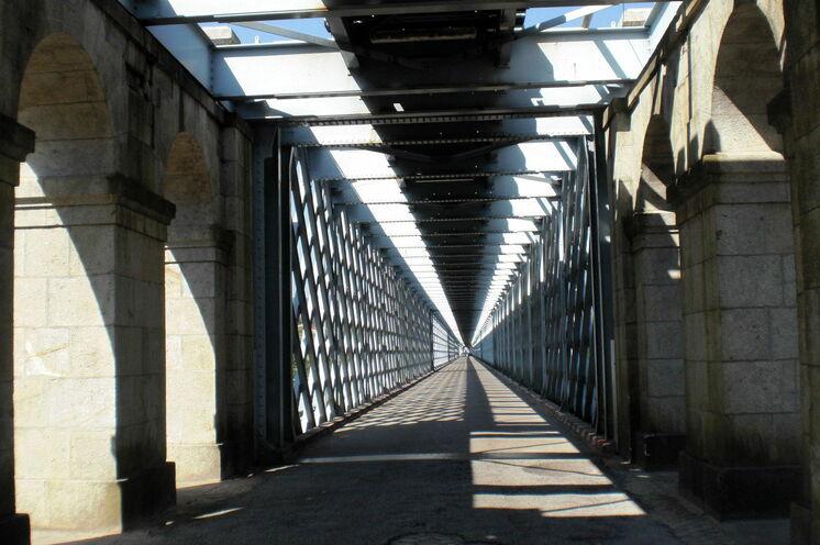 Antiga Ponte Internacional von Valencia nach Tui