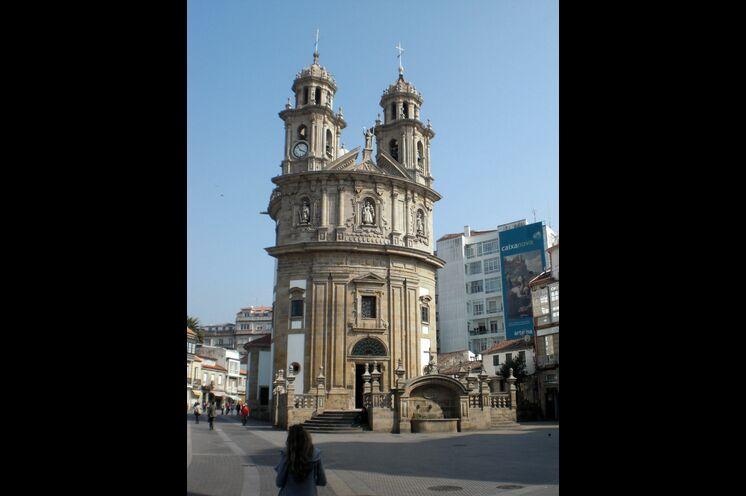 Kapelle Virxe Peregrina Pontevedra