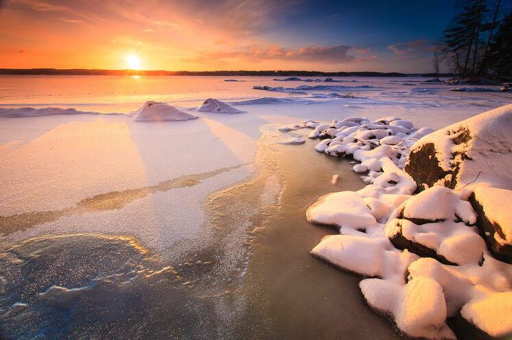 Die Landschaften im Nationalpark Lemmenjoki bieten wunderschöne Bildmotive