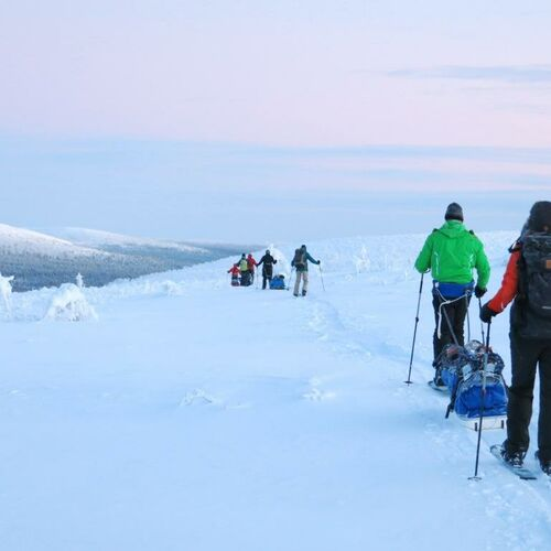 Skierlebnis im Sami-Land