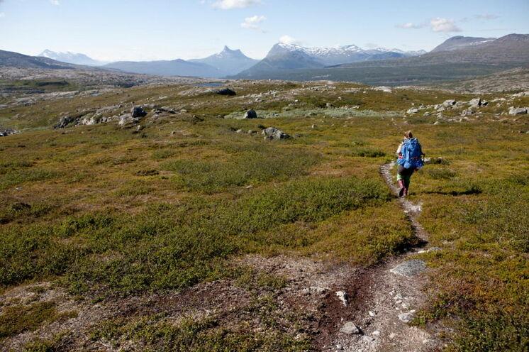 Zu Fuß durch die schwedischen Berge © Johannes Kormann