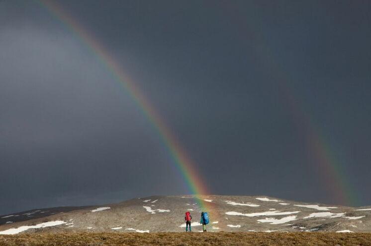 Magisch: Glücksmomente am Polarkreis © Johannes Kormann