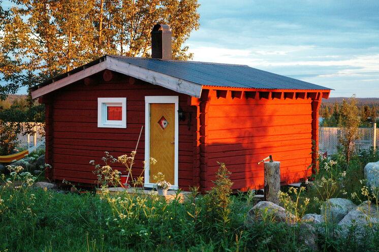 Typisches Ferienhaus am See©
