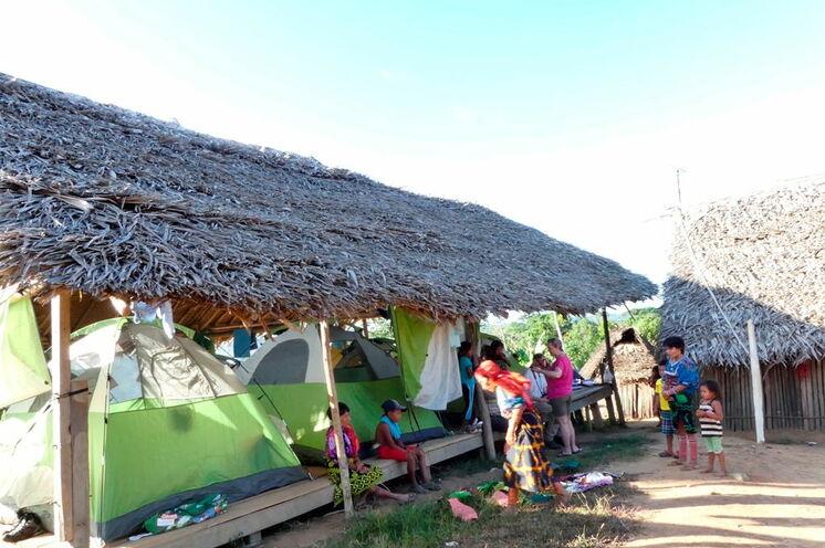 Abenteuer Pur mit Übernachtungen im Zelt, Stockbettencamp oder Hängematten