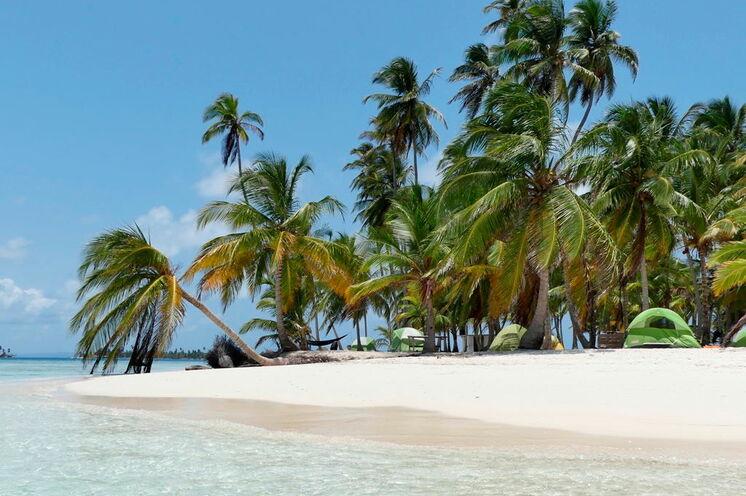 Auf den San-Blas-Inseln entspannen Sie im paradiesischen Inselarchipel
