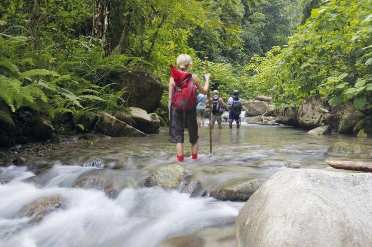 Bei Trekking in Panama sind Sie völlig abseits der Tourismusströme unterwegs