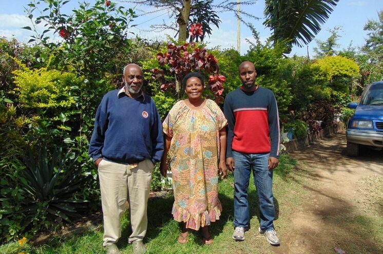 Patrick , Anne und Baraka Mshana heißen Sie willkommen!