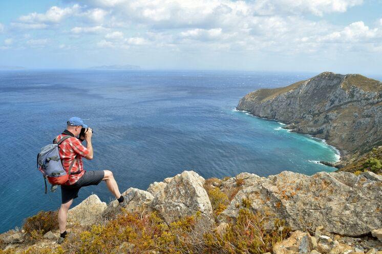 Traumausblick an der Punta Bassano auf Marettimo