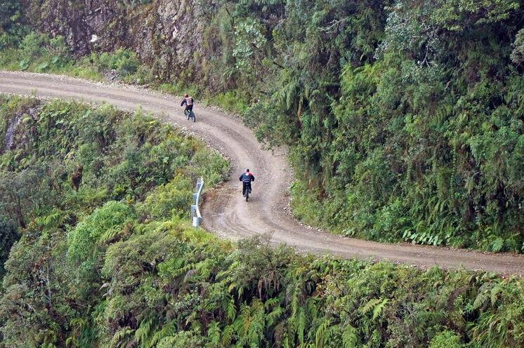 bis in die sogenannten Yunges, den Übergang zwischen Anden und tropischem Regenwald.